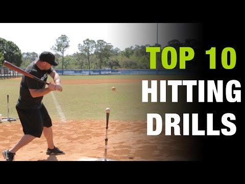 Top 10 Hitting Drills To Develop The Perfect Baseball Swing  [Top 10 Thursday Ep.2]
