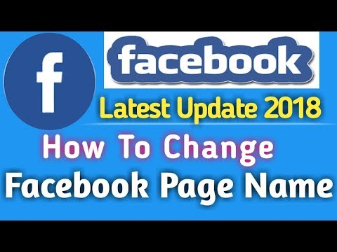 How To Change Facebook Page Name 2018 In HIndi | 100% working & Real Process