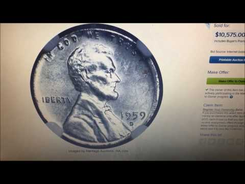 1959D PENNY SELLS FOR $10,575!! WHAT MAKES IT SPECIAL IS REALLY COOL!