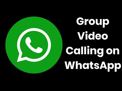 How to Group Video Audio Call on Whatsapp