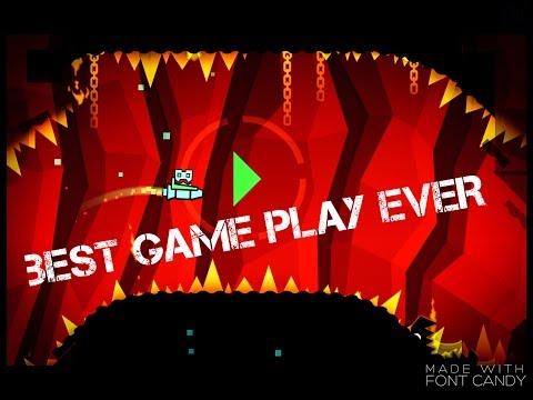 Best Geometry Dash iPad Game Play Ever