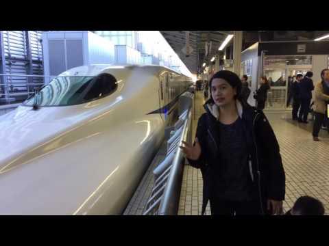 Shinkansen Tokyo - Osaka Japan 05 November 2016