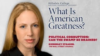 Download ″Political Corruption: Can the Swamp Be Drained?″ - Kimberley Strassel Video