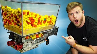 NERF 5000 Round Un-stoppable Turret Challenge!