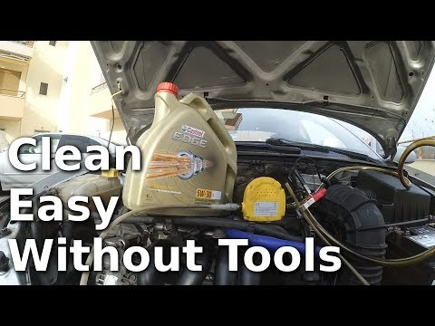 How to change your oil - WITHOUT a Jack