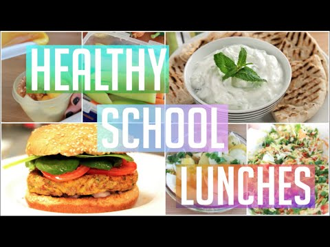 Healthy and Easy School Lunch Ideas! ♥