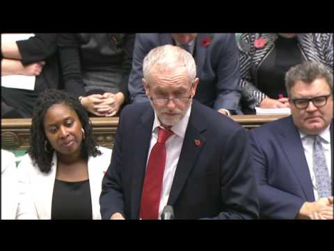 Prime Minister's Questions: 2 November 2016