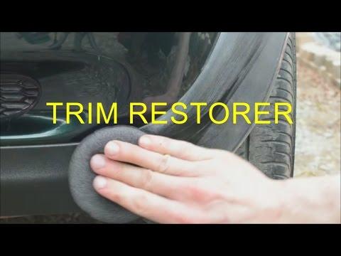 Turtle Wax Trim Restorer Review || How To Restore Black Plastic Car Trim