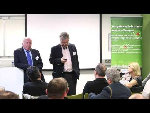 Eddie Townsend - (2) Video 5: HORIZON 2020 at Lancaster University