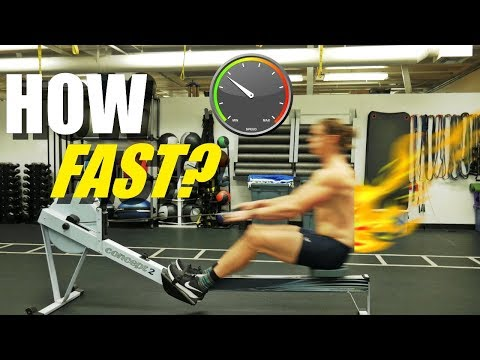 Rowing Machine: How Fast Should You Row?
