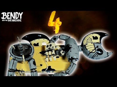 BENDY ANIMATRONIC (Secret Character) ★ Bendy and the ink machine: CHAPTER 4 ➤ Polymer clay Tutorial