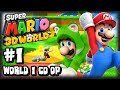 Super Mario 3d World Wii U 1080p Co Op Part 1 World 1