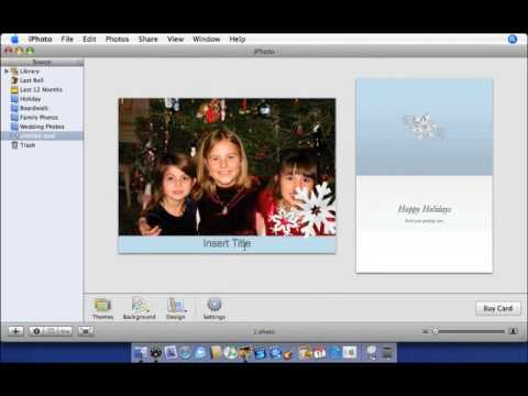 Apple iLife '06 Multimedia Tutorials Create Greeting Cards