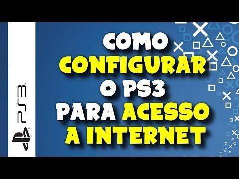 PLAYSTATION 3 - Como configurar o PS3 para acesso a internet em uma rede sem fio