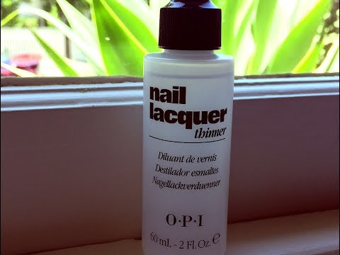 OPI Lacquer Thinner - product review