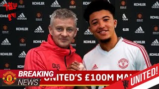 Jadon Sancho to finally join Manchester United, but only if two conditions are met