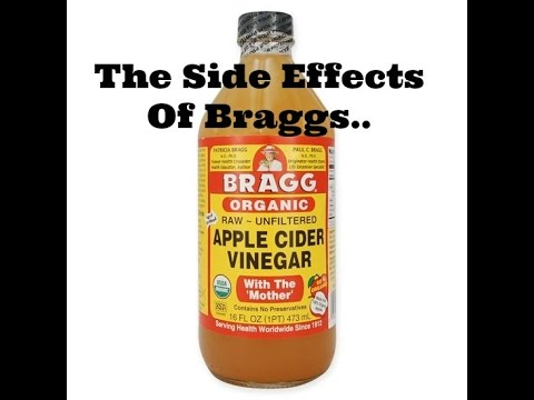 The Side Effects Of Braggs Apple Cider Vinegar