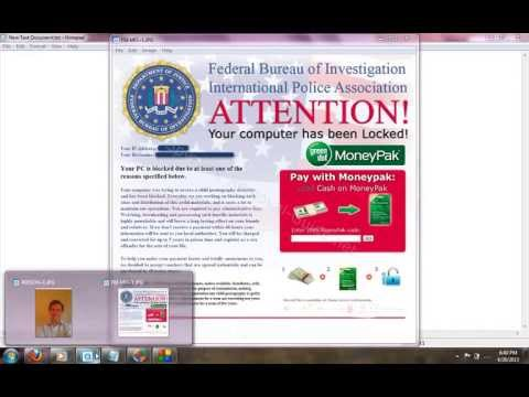 How to Remove FBI Virus