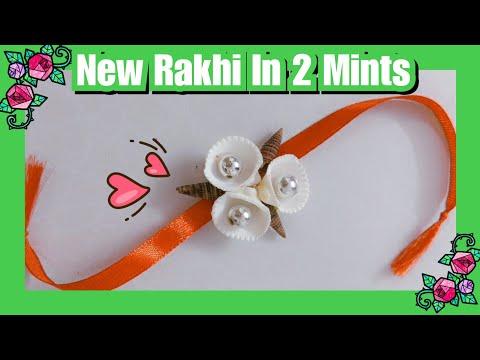 How to make Rakhi in 2 Mints | DIY Rakhi | Shell's Rakhi