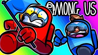 Among Us Funny Moments - Capture the Flag!!