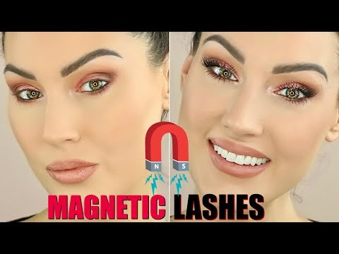 MAGNETIC LASHES   DO THEY REALLY WORK   THE GLAM BELLE