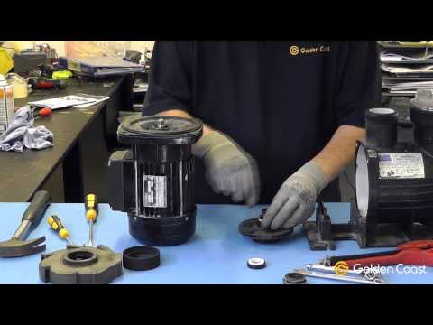 Changing the Shaft Seal on a Swimming Pool Pump | Andy's Answers