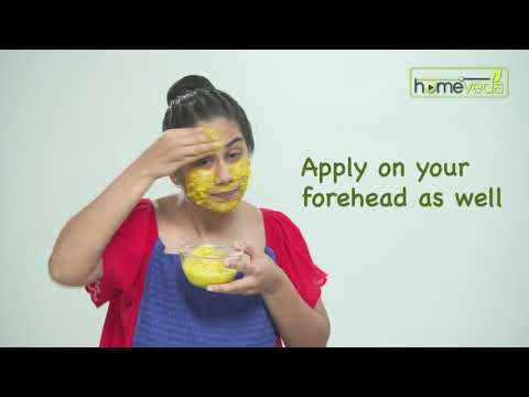 Turmeric Face Scrub | Easy Skin Care Remedies - Homeveda