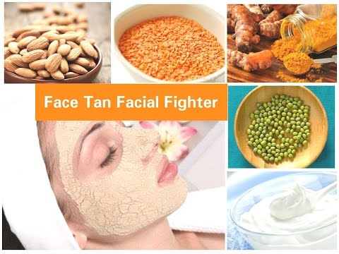 Remove Sun Tan From Your Face Instantly