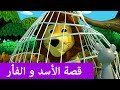 قصة الأسد و الفأر - قصص تعليمية للأطفال بالعربية