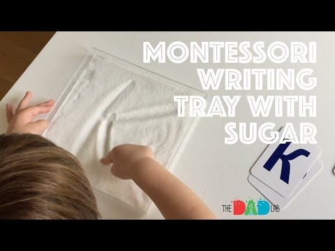 Teach Letters With A Writing Wray With Sugar
