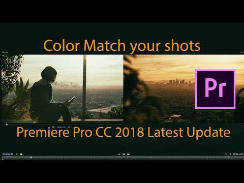The NEW Color Match Tool for Premiere PRO cc2018