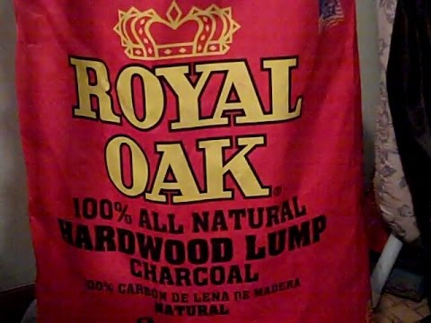 Redo Review of The Royal Oak Lump Charcoal