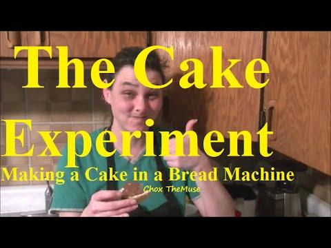 Breadmaker Cake: Take 1