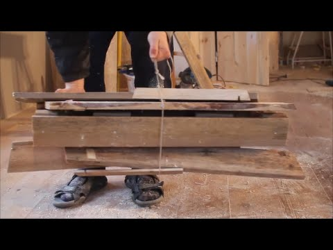DIY collapsible sawhorse - small footprint