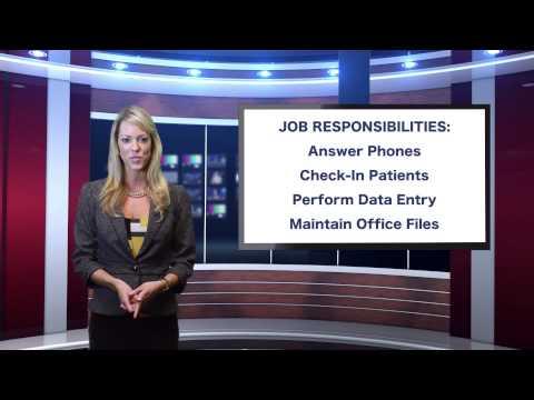 Gigats Job of The Day - Medical Receptionist Job