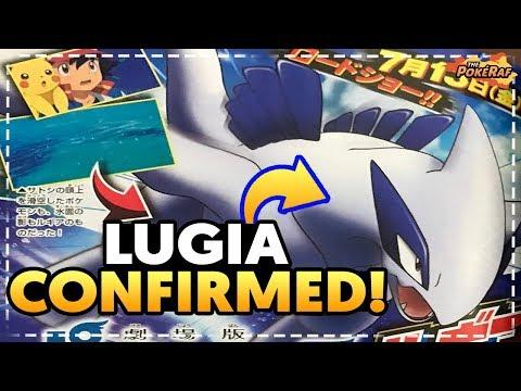 LUGIA CONFIRMED in Pokémon the Movie 2018! ZERAORA To Feature?