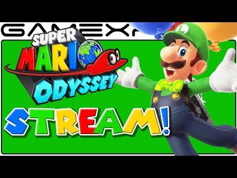 Luigi's Balloon World LIVESTREAM (Super Mario Odyssey Update)
