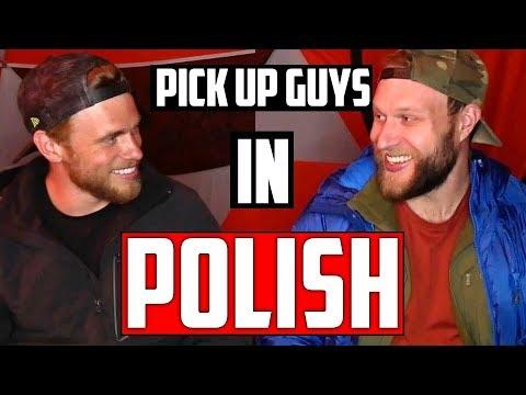 How To Pick Up Guys Speaking Polish ft. Gus Kenworthy   POLISH LANGUAGE LESSON