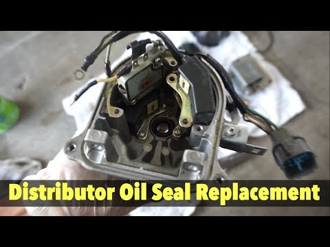 Acura Integra Distributor Oil Seal & O Ring Replacement