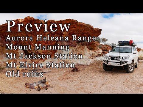 Preview - Aurora/Helena Ranges, Mt Manning, Mt Jackson, Mt Elvire