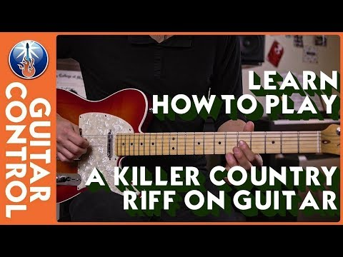 Learn How to Play a Killer Country Riff on Guitar