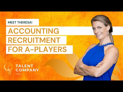 Meet Theresa | Accounting Recruitment for A-Players