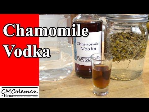 Chamomile Infused Vodka