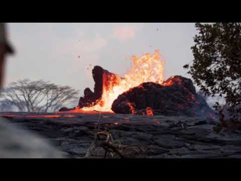 Volcanoes earthquakes and fires update report