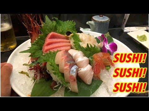 SUSHI FROM JAPAN TO CALIFORNIA- Food Vlog #1