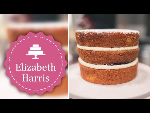 How to make a Victoria Sponge | Cake Decorating Tutorial