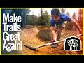 Art of Trail Building: Shaping Berms for Mountain Bike & BMX