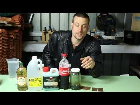 Vinegar for rust