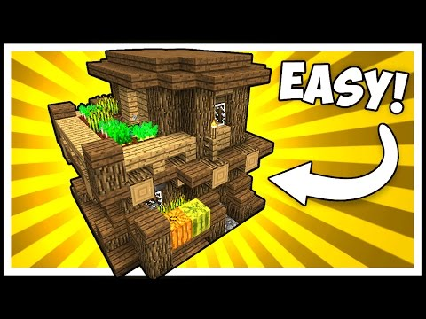 How To Build Little Wooden House On Minecraft
