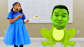 Download Wendy Pretend Play Magic Wand Transform Into Animals for Kids Video